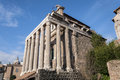 Temple of antoninus and faustina in the roman forum rome italy Stock Photo