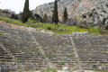 Temple apollo delphi greece Royalty Free Stock Photography