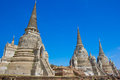 Temple of Ayutthaya Historical Royalty Free Stock Photos