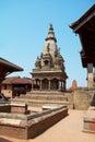 Temple of Baktaphur city Royalty Free Stock Photo