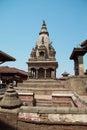 Temple of Baktaphur city, Nepal Royalty Free Stock Photo