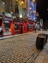 stock image of  Temple bar Dublin