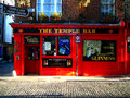 Temple bar the pub in dublin Royalty Free Stock Photos