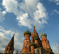 Temple of basil the blessed moscow russia red square Royalty Free Stock Images