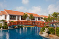 Temple Bay Resort in India Royalty Free Stock Photo