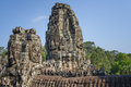 Temple of bayon angkor thom Royalty Free Stock Image