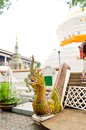 Temple beautiful in chiangmai thailand Stock Photo