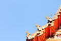 Temple a beautiful in hatyai thailand Royalty Free Stock Images