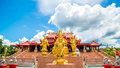 Temple beautiful and priceless in thailand Royalty Free Stock Image