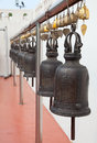 Temple bell Stock Photography