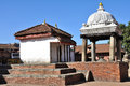 Temple at Bhaktapur Durbar Square Royalty Free Stock Images
