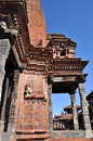 Temple at Bhaktapur Durbar Square Stock Photography