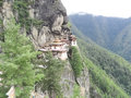 Temple in bhutan beautiful temples high mountain Royalty Free Stock Photos