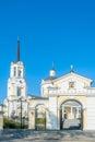Temple of the blessed virgin assumption russia church verkhnyaya pyshma sverdlovsk region Stock Images