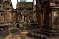 Temple buddha historic ancient in siem reap cambodia Stock Image