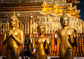Temple buddha statues in wat phra that doi suthep in chiang mai thailand Stock Images