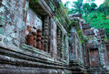 Temple cambodgien antique Image libre de droits