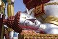 Temple on the Chao Praya River bangkok Thailand