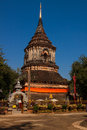 Temple in chiang mai temples with a clear sky day Royalty Free Stock Photography