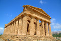 Temple of concordia in agrigento sicily italy Stock Photos