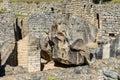 Temple of the condor Machu Picchu ruins peruvian Andes  Cuzco Pe Royalty Free Stock Photo