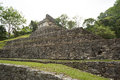 Temple of the cross in palenque chiapas ruin mexico Royalty Free Stock Photos