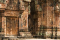 Temple de banteay srei angkor vat cambodge Photo stock