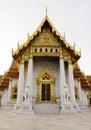Temple de Benchamabophit de Bangkok Thaïlande Photographie stock libre de droits