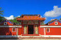 Temple de cinq concubines Photo stock