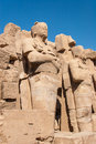 Temple de karnak egypte Images stock