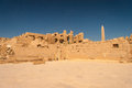 Temple de karnak egypte Image stock