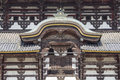 Temple de todai ji nara japon Photographie stock libre de droits
