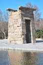 Temple of Debod, Madrid Royalty Free Stock Photos