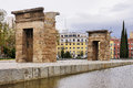 Temple of Debod, Madrid Stock Image