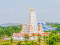 Temple in the east of thailand Royalty Free Stock Images