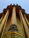 Temple of the Emerald Buddha. Royalty Free Stock Photography