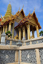 Temple of Emerald Buddha Stock Images
