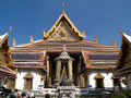 Temple of emerald buddha in bangkok Royalty Free Stock Photo