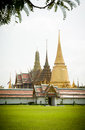 Temple of the emerald buddha in bangkok Royalty Free Stock Photography