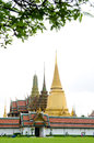 Temple of emerald buddha bangkok thailand feb wat phra kaew the the is a royal chapel within the walls the grand palace feb Stock Photography
