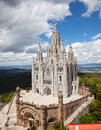 Temple Expiatori del Sagrat Cor Royalty Free Stock Photo