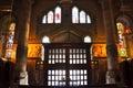 The Temple Expiatori del Sagrat Cor. Inside the temple. Royalty Free Stock Photo