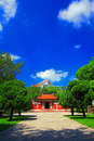 Temple of Five Concubines - Historic Site of Tainan Royalty Free Stock Photo