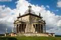 The temple of the four winds castle howard north yorkshire lies at eastern end terrace commanding stunning views across hills Royalty Free Stock Photo