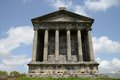 Temple garni armenia first century hellenistic in Stock Images