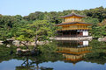 Temple of the golden pavilion Stock Photo