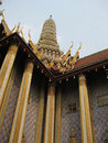 Temple, The Grand Palace, Bangkok, Thailand Royalty Free Stock Photos