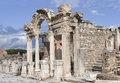 The temple of hadrian ephesos turkey ancient town Stock Photos