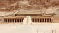 Temple of Hatshepsut. Royalty Free Stock Photo
