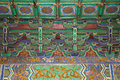 Temple of heaven altar of heaven inside the hall of prayer for good harvests beijing china Royalty Free Stock Images